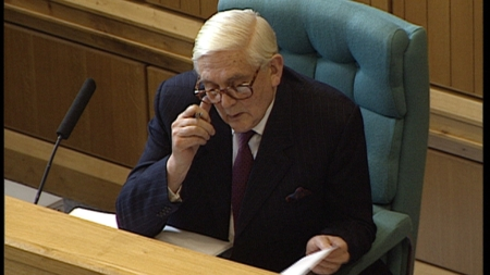 SIR RONALD WATERHOUSE The retired High Court judge who chaired the Tribunal. He wouldn't comment on the allegation that the Tribunal had prevented Des Frost from giving evidence.