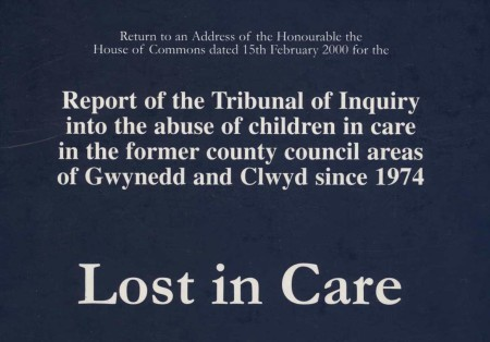 LOST IN CARE The massive 937 page report cleared the North Wales Police of any failures