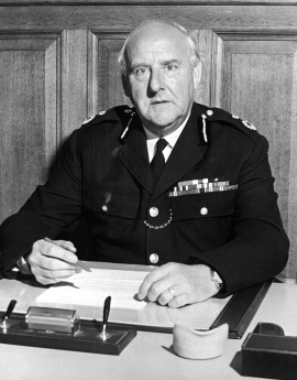 SIR MAURICE STANSFIELD  A war hero, Sir Maurice was chief constable of the  Derbyshire force. He was also a freemason in North Wales. . He wouldn't answer questions about