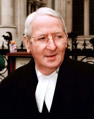 GEORGE CARMAN, QC George Carman, who represented the London media in the case, was the most famous libel barrister of his day. He cross-examined Gordon Anglesea. Photo: © Photoshop