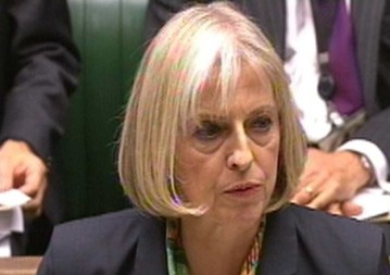 THERESA MAY The Home Secretary told Paul Flynn MP in the House of Commons that the Rebecca Television allegations would be investigated. Photo: PA