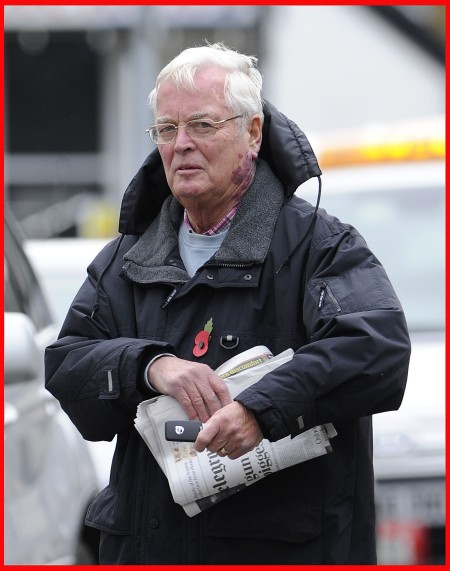 GORDON ANGLESEA The retired police superintendent arrested on suspicion of historic sexual and physical abuse of children in North Wales. Picture: © Daily Mirror