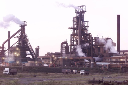 PORT TALBOT The decline of steelmaking in Wales was  a major factor in the collapse of the Pickering family businesses. Picture: PA
