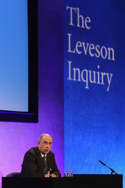 LORD LEVESON BRIAN LEVESON managed to hold public hearings where more than 300 witnesses gave evidence and produce a 2,000 page, three volume report in just 17 months. The Macur Review is still not complete after 26 months.  Photo: PA